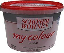 SCHÖNER WOHNEN,Wandfarbe my colour »my rose«,10 Liter