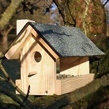 Schönes, großes Vogelfutterhaus für den Garten,
