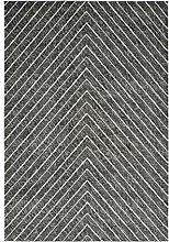 SchoenesWohnen24 Teppich Dominica - Delices Silber