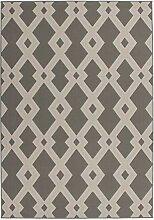 SchoenesWohnen24 Teppich Now! 100 Taupe 120cm x