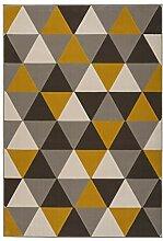 SchoenesWohnen24 Teppich Now! 200 Multi/Gold 120cm