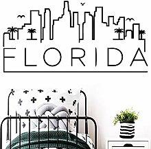 Schönheit Florida Wandkunst Aufkleber Dekoration