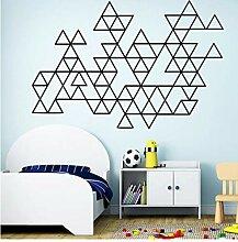 Schönheit Geometrische Muster Wandaufkleber
