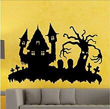 Schönheit Halloween Aufkleber E Vinyl Wandplakat