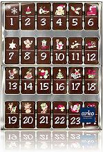 Schoko-Adventskalender Zartbitter-Schokolade von