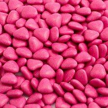 Schokodragees Schokoherzen Gastgeschenk 1kg pink