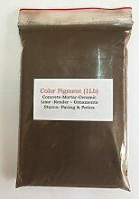 Schokolade Braun Dark (1LB) Pigment/Farbstoff für Beton, Putz, Holz, Metall, Keramik, Wandfarbe, Ziegel, Fliesen, Render, Pointen, Mörser 4