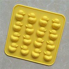Schokoladenform gelbe Ente schimmel Kuchenform