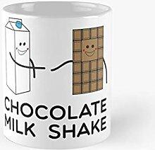 Schokoladenmilch-Shake-Becher