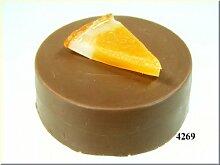 Schokotaler Orange (3 Stück) Lebensmittelattrappe