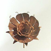 Scholtissek Blumenstecker Seerose Rose Stab Eisen