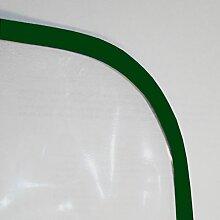 Schondecke stark transparent glasklar Tischdecke