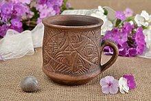 Schone handgemachte Tasse Keramik Geschenk fur Frauen Keramik Tasse originell