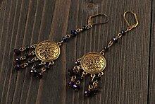 Schone Schmuck Ohrringe handmade Juwelier Modeschmuck Geschenk fur Frauen