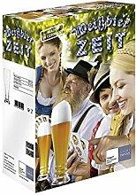 Schott Zwiesel 118661 BASIC Weizen Bierglas Set,