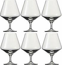 Schott Zwiesel Cognac Pure/Brandyglas 6er Se
