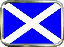 Schottische Flagge Tabakdose, Pillendose