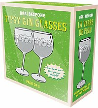 Schräge Gin Tonic Gläser mit ca. 800ml