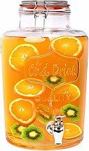 Schramm® Getränkespender Zapfhahnflasche