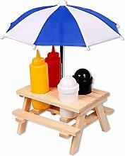 Schramm® Gewürzständer Picknicktisch mit