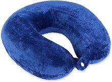 Schramm® Nackenkissen mit praktischem Druckknopf