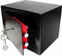 Schramm® Safe Tresor mit Schloss Minisafe