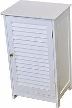 Schrank fürs Badezimmer - 1 Tür - Kolonial-Stil