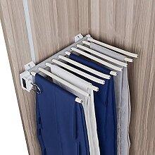 Schrank herausziehen Hosen-Rack, 10 Schal
