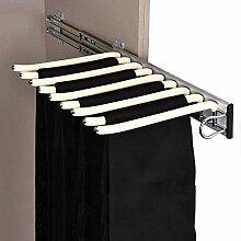 Schrank herausziehen Hosen-Rack, 9 Schal