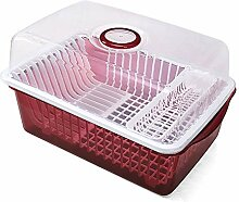 Schrank-Plastikküchen-Abfluss-Teller-Gestell mit