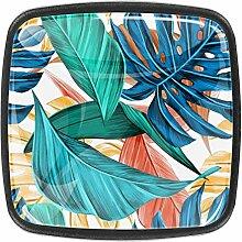 Schrankknäufe aus Glas, 3,5 cm, transparent, für
