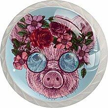 Schrankknöpfe aus ABS-Glas, für Sonnenbrillen,
