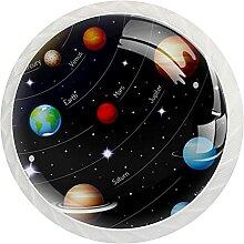 Schrankknöpfe, Universum, Planet, rund,
