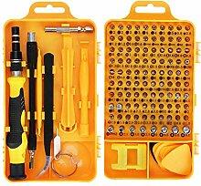 Schraubendreher Set,115 in 1 Mini Feinmechaniker