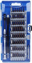Schraubendreher Werkzeug Set, 60in1 Schraubenzieher zerlegen Werkzeugsatz Handy Auto Reparatur Werkzeuge (blau)