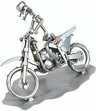 Schraubenmännchen MOTOCROSS RACE MOTORRAD handgefertigte ausgefallene Geschenkidee