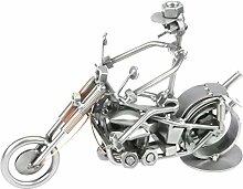 Schraubenmännchen MOTORRAD CHOPPER Biker handgefertigte ausgefallene Geschenkidee