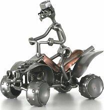 Schraubenmännchen QUAD MOTORRAD handgefertigte ausgefallene Geschenkidee