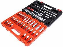 Schraubenschlüssel 53 Werkzeuge Set Auto Fix Werkzeuge Multifunktions Haushalt Hausgebrauch Handwerkzeuge