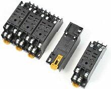Schraubklemmen auswechselbar 8DIN-Schienen Relais Socket Basisprofil W900