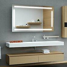 Schreiber Design LED Badspiegel mit Lichtstarke