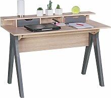 Schreibtisch 120 cm Design Bürotisch Sonoma