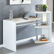 Schreibtisch 145x50x94 cm Bürotisch Regal