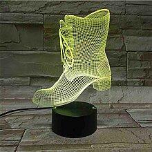 Schreibtisch 3D Lampe Acryl 3D Nachtlampe für