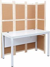 Schreibtisch 454, Bürotisch Computertisch mit