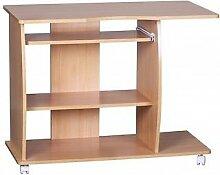 Schreibtisch 90x71x50 Buche Arbeitstisch