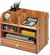 Schreibtisch-Aufbewahrungsbox liefert große
