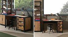 Schreibtisch Beli Schreibtische Kiefer braun