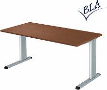 Schreibtisch BNS E10 C-Fuß 160 x 80 cm