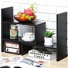 Schreibtisch-Bücherregal, Schreibtisch-Organizer,